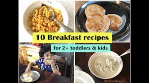 10 breakfast recipes for 2 toddlers