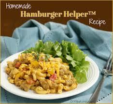 homemade hamburger helper cheeseburger