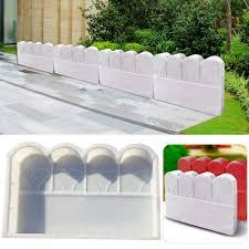 White Plastic Fence Garden Border Edging Buy Online In Guernsey At Desertcart
