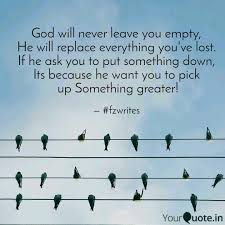 god will never leave you quotes writings by faizan khan