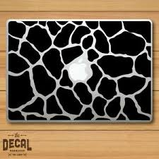 Apple Giraffe Print Macbook Sticker Macbook Decal Cover Skin Ebay
