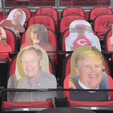 No fans nets historic donations for Reds Community Fund in form of fan  cutouts | WKRC