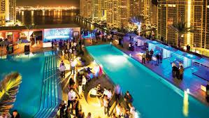 wedding venues with epic rooftop pools