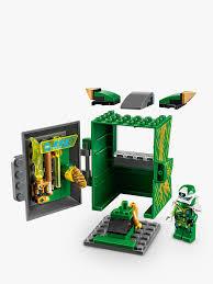 LEGO Ninjago 71716 Lloyd Avatar Arcade Pod at John Lewis & Partners