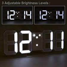 table desk night wall clock alarm