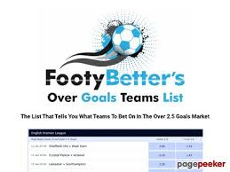Over 2.5 Goals Football Betting Tips – Over 2.5 Goals Football Betting Tips  - Reddot Link