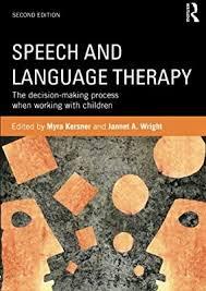 Speech and Language Therapy: Amazon.co.uk: Kersner, Myra, Wright ...