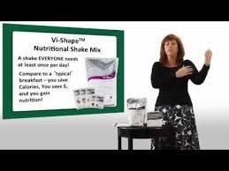 vi vi shape shake nutritional facts
