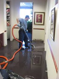 water damage carpet restoration