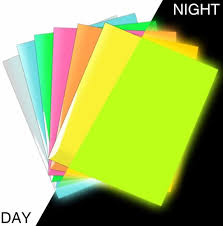 China Heat Transfer Paper Glow In Dark Vinyl Sheets Fluorescent Sticker Htv Flex Pu Cuttable Vinyl For Cotton China Pu Growing Sticker Fluorescent Sticker Htv
