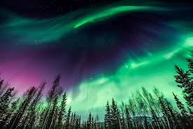 seeing the northern lights in alaska
