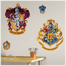 Hogwarts Crest Vinyl Wall Stickers Decal Harry Potter Dimensions 1 Sheet Of 18 X 40 By Roommates Walmart Com Walmart Com