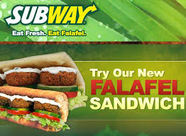 falafel sandwich chipotle drops