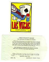 Vintage Baxter Lane 1960s Or 70s Las Vegas And 50 Similar Items