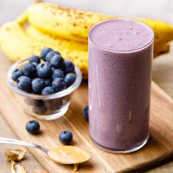 Image result for blueberry banana protein smoothie""