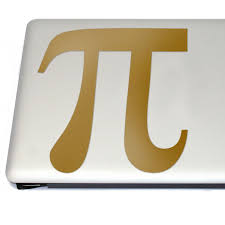 Pi Mathematical Symbol Vinyl Decal