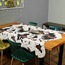 Cute Cow Print Rugs Western Cowboy Decor Faux Cow Hide Rug For Kids Room 140x160cm Rug Aliexpress