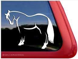 Quarter Horse Decals Stickers A Nickerstickers