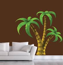 Palm Tree Wall Decal Extra Large Decal Etsy