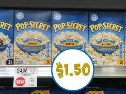 pop secret coupon for the publix