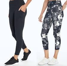 bally total fitness pocketed leggings
