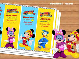 Kit Imprimible Mickey Aventuras Sobre Ruedas Editable 150 00