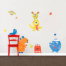 Monster Fun Printed Wall Decal