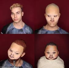 this is terrifying makeup artist 25