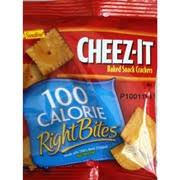 cheez it 100 calorie right bites snack