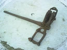 Antique Dillon Barb Wire Fence Stretcher Farm Tool 21571753