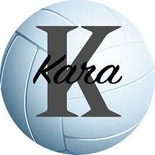 Personalized Volleyball Decal Volleyball Wall Decal Volleyball Sticker Customized Decal Vinyl Wall Decal Sports Decor Volleyball Art