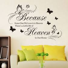 Removable Butterfly Mural Quote Art Words Wall Sticker Vinyl Decals Home Decor 9 32 Room Diy Master Bedroom Diy Living Room Decor Quotes