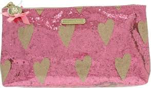 victoria s secret pink glitter makeup