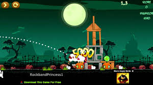 Angry Birds Online Games Angry Birds Halloween Game - YouTube