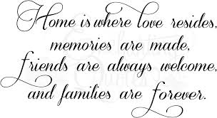 quotes about home and family quotes