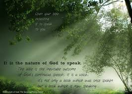 the speaking voice god is articulate in a w tozer quotes