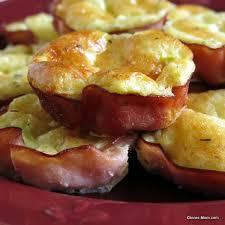 ham quiche cups low carb gluten free