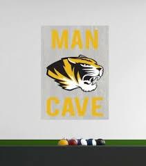 Mizzou Tigers Wall Decal Missouri University Team Ncaa Logo Man Cave Decor C1795 Ebay