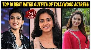 best rated outfits of tollywood actress