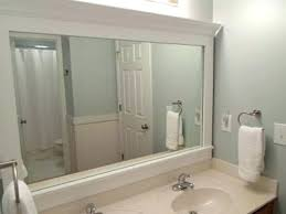 bath vanity mirrors framed bathroom