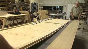 build a wooden flat bottomed boat