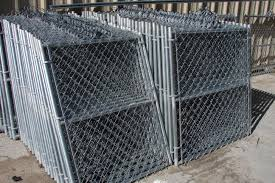 8 Foot Galvanised Residential Chain Link Fence