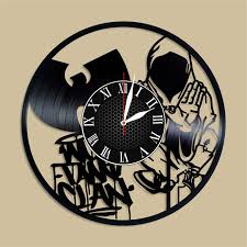 Olha Art Design Wu Tang Vinyl Clock Wu Buy Online In Macau At Desertcart