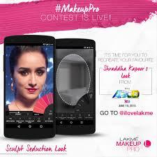 lakme makeup pro app 3 looks