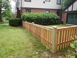 8 Cedar 1x4 Spaced Picket Flat Top Backyard Fences Patio Fence Fence Design