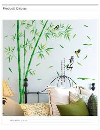 Bamboo Wall Stickers Mural Art 3d Decals Wallpaper Decor Living Room Study Room For Sale Online