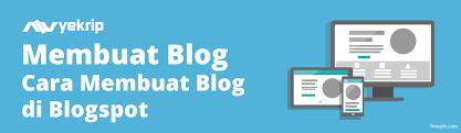 cara membuat blog di pot lengkap gambar nyekrip