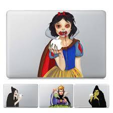 Gooyiyo 2019 Laptop Partial Vinyl Decal Snow White Princess Skin Halloween Scary Sticker Cover For Macbook Air Pro Retina Laptop Skin Sticker Cover Cover For Macbookcover For Laptop Aliexpress