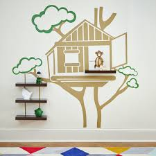 Treehouse Decal Shelves Shelves Traditional Furniture Home Decor Decals