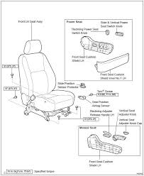 toyota camry seat position air bag